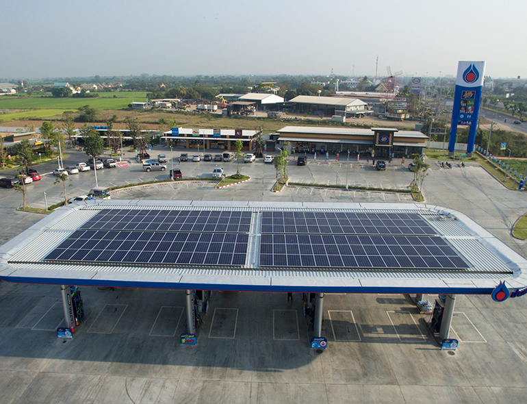 PTT Gas Station | Singhburi